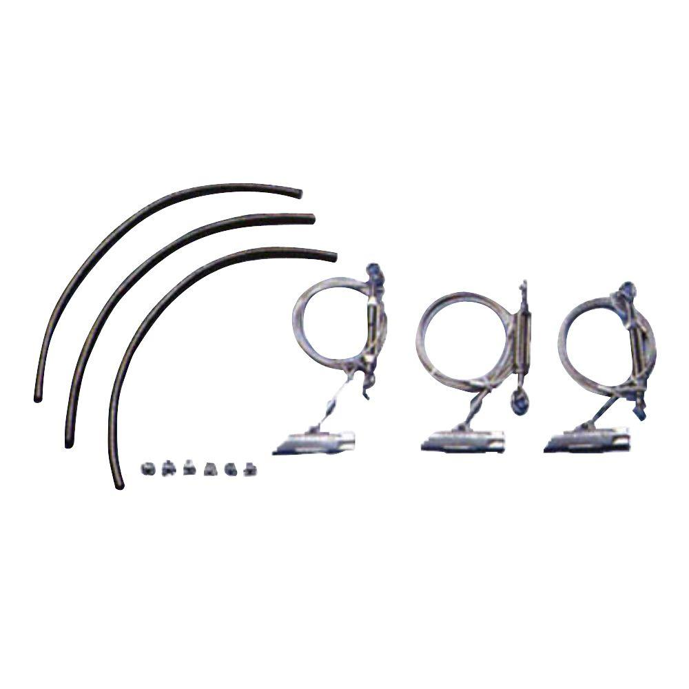 6 in. - 11 in. Complete Tree Kit Anchors