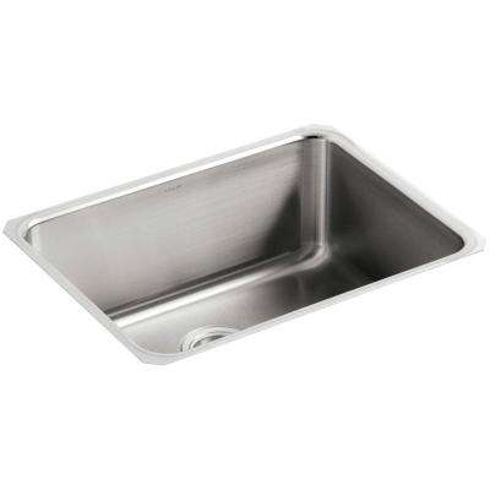 Undertone Undermount Stainless Steel 23 in. Single Basin Kitchen Sink