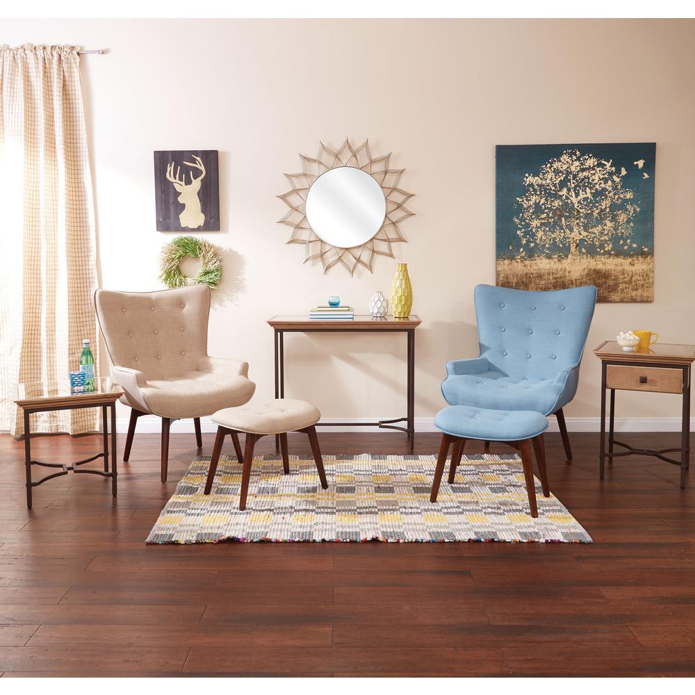 Dalton Capri Chair with Ottoman