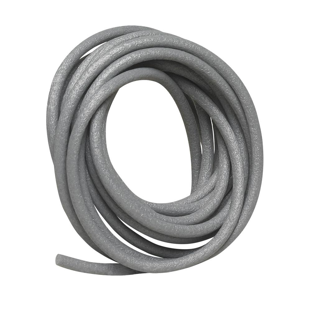 Frost King 3/8 in. x 20 ft. Grey Poly Foam Caulk Saver