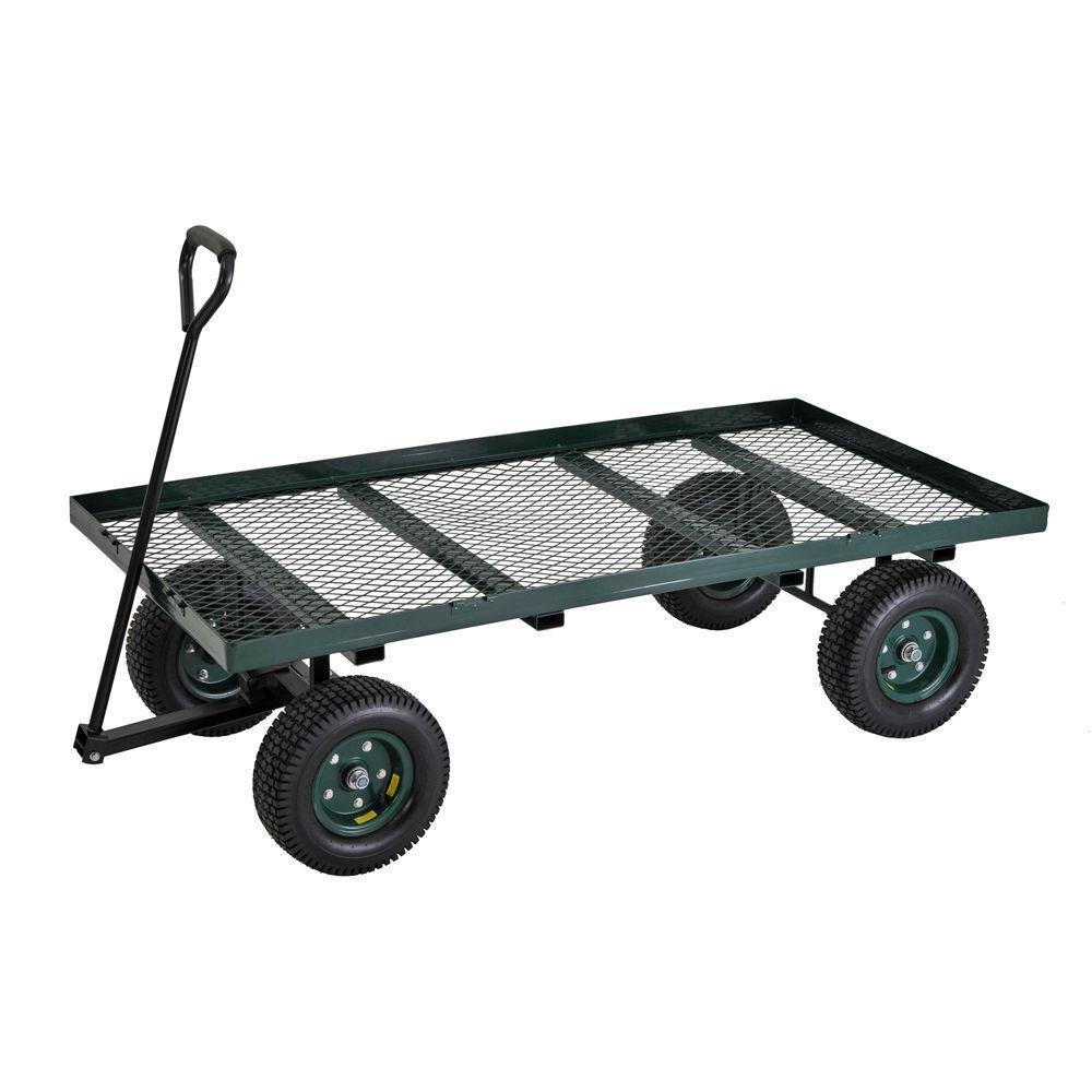 7 cu. ft. 36 in. W Utility Cart
