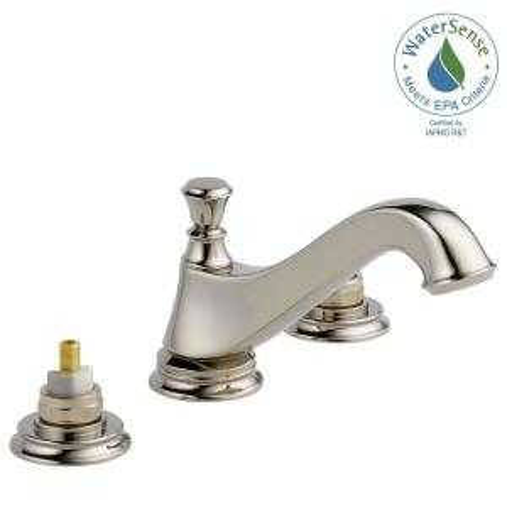 Bathroom Faucets Knoxville Tn delta cassidy 8 in. widespread 2-handle bathroom faucet with metal