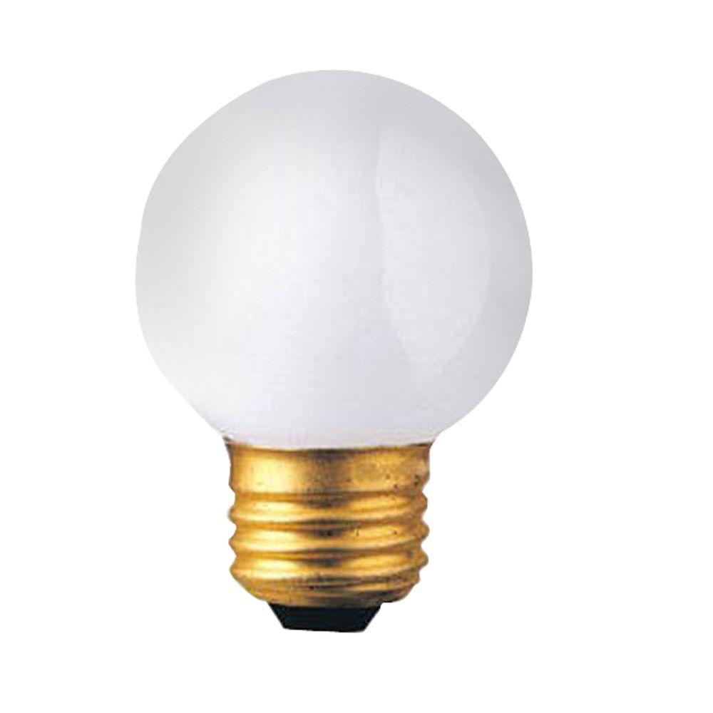 Bulbrite 40-Watt Incandescent G16.5 Light Bulb (15-Pack)