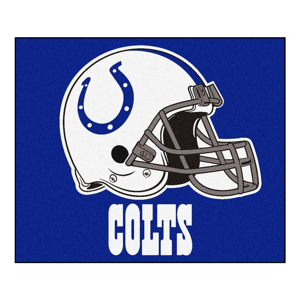 Fanmats Indianapolis Colts 5 Ft X 6 Ft Tailgater Rug