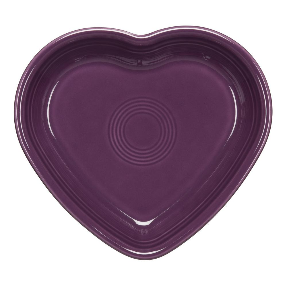 17 oz. Mulberry Medium Heart Bowl