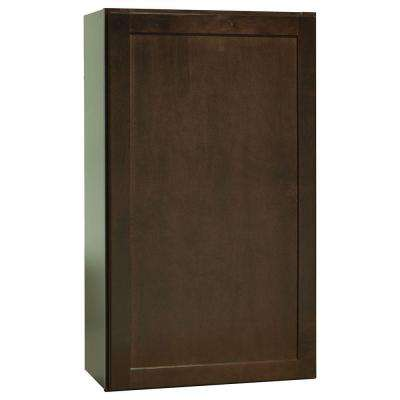 Shaker Assembled 21x36x12 In. Wall Kitchen Cabinet ...