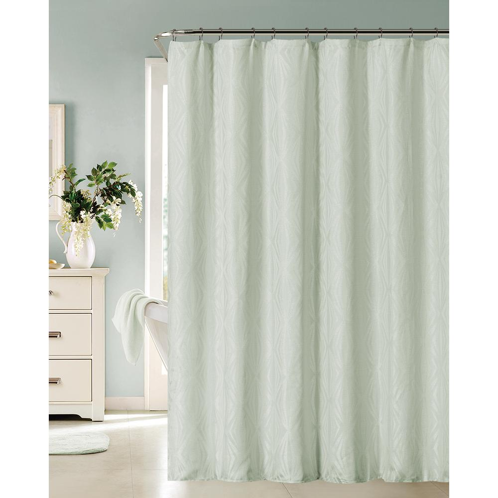Dainty Home Romance 72 In. Spa Shower Curtain-ROMANSCSPA
