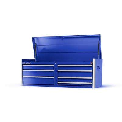 Tech Series 54 in. 7-Drawer Top Chest in Blue