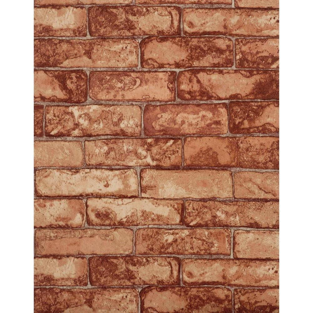 York Wallcoverings Rustic Brick Wallpaper
