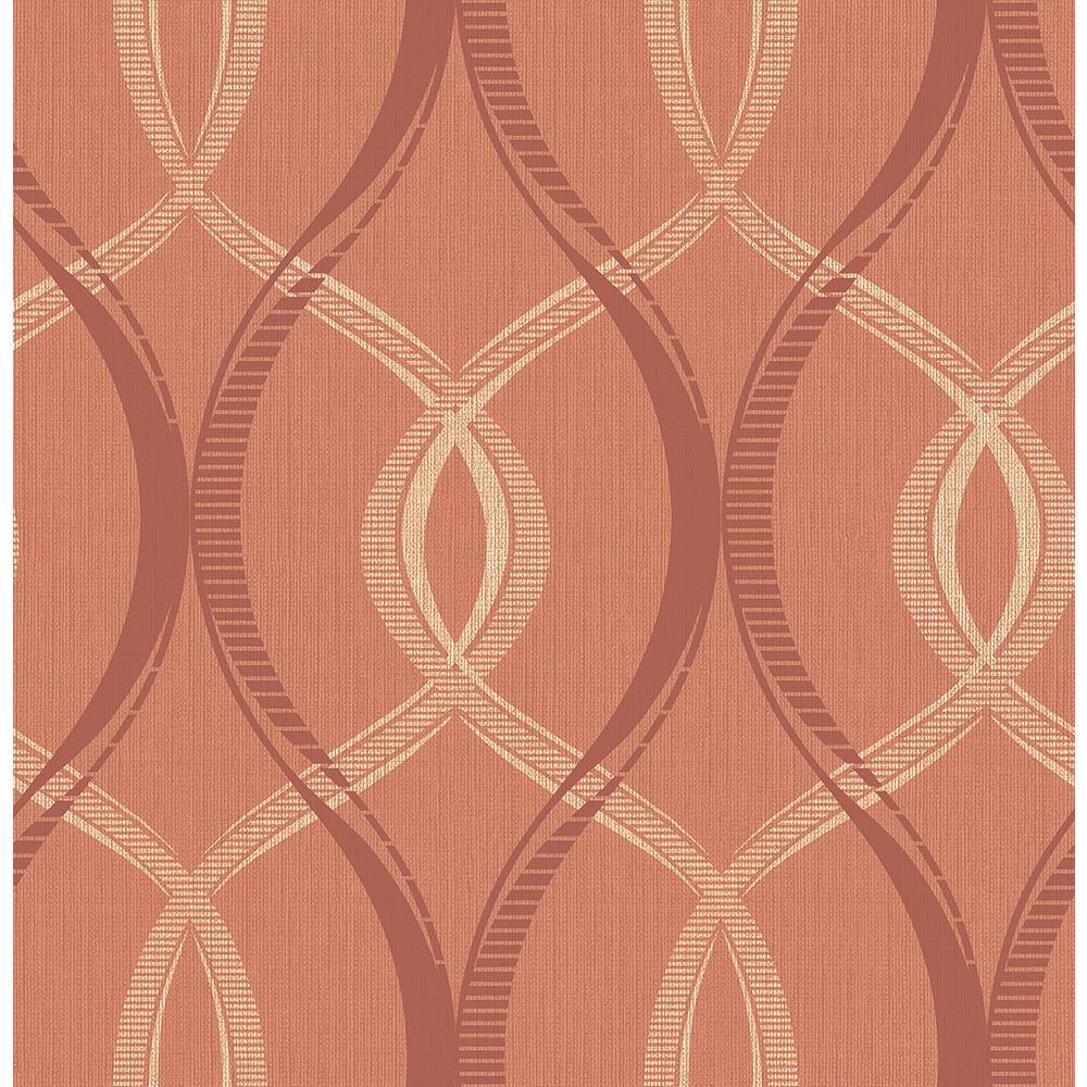 Strange Echo Rust Lattice Wallpaper Interior Design Ideas Skatsoteloinfo