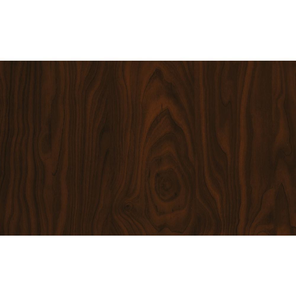 26.57 in. x 78.72 in. Dark Brown Birch shelf liner