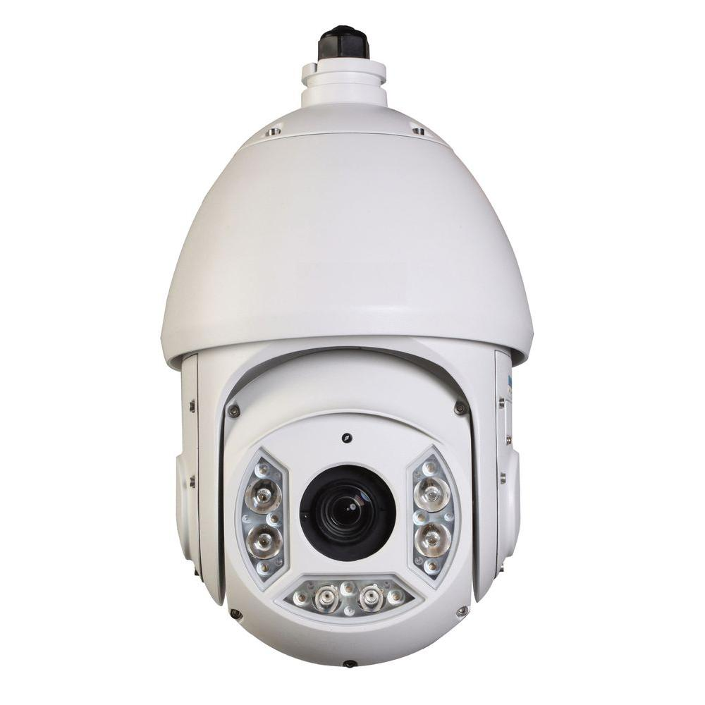 Wired 2-Megapixel Cost-Effective Network IR PTZ Indoor or Outdoor Dome Standard