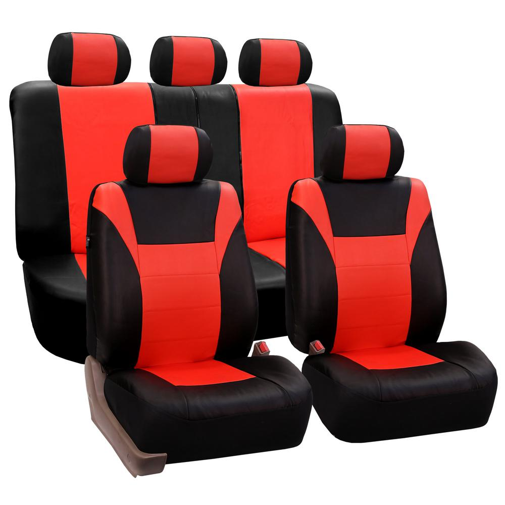 PU Leather 47 in. x 23 in. x 1 in. Racing