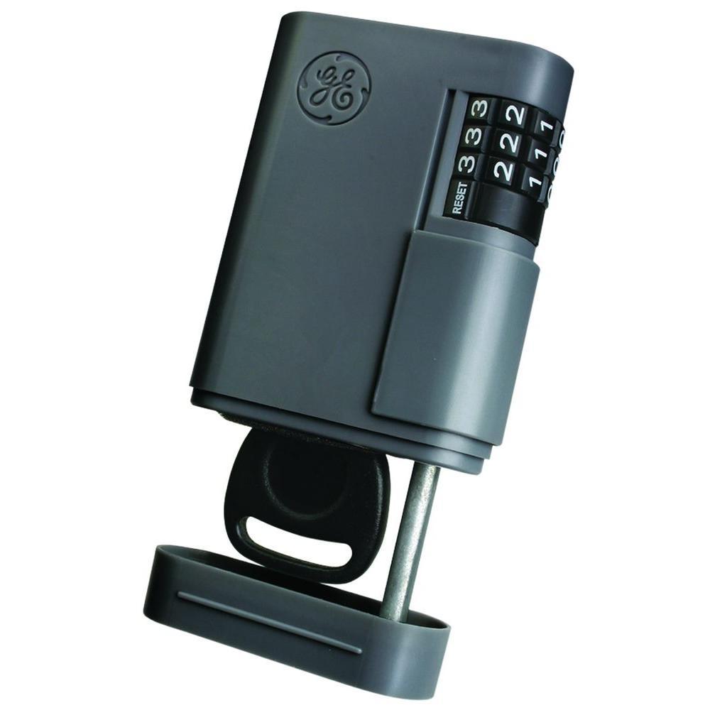 Stor-A-Key Locking Key Case, Charcoal