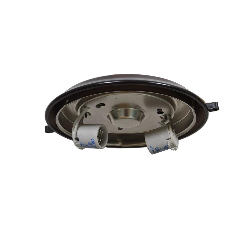 Gazebo 52 in. Weathered Bronze Ceiling Fan Replacement Light Kit