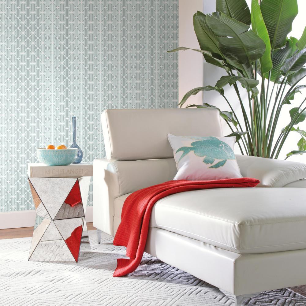 28.29 sq. ft. Mod Lattice Peel and Stick Wallpaper