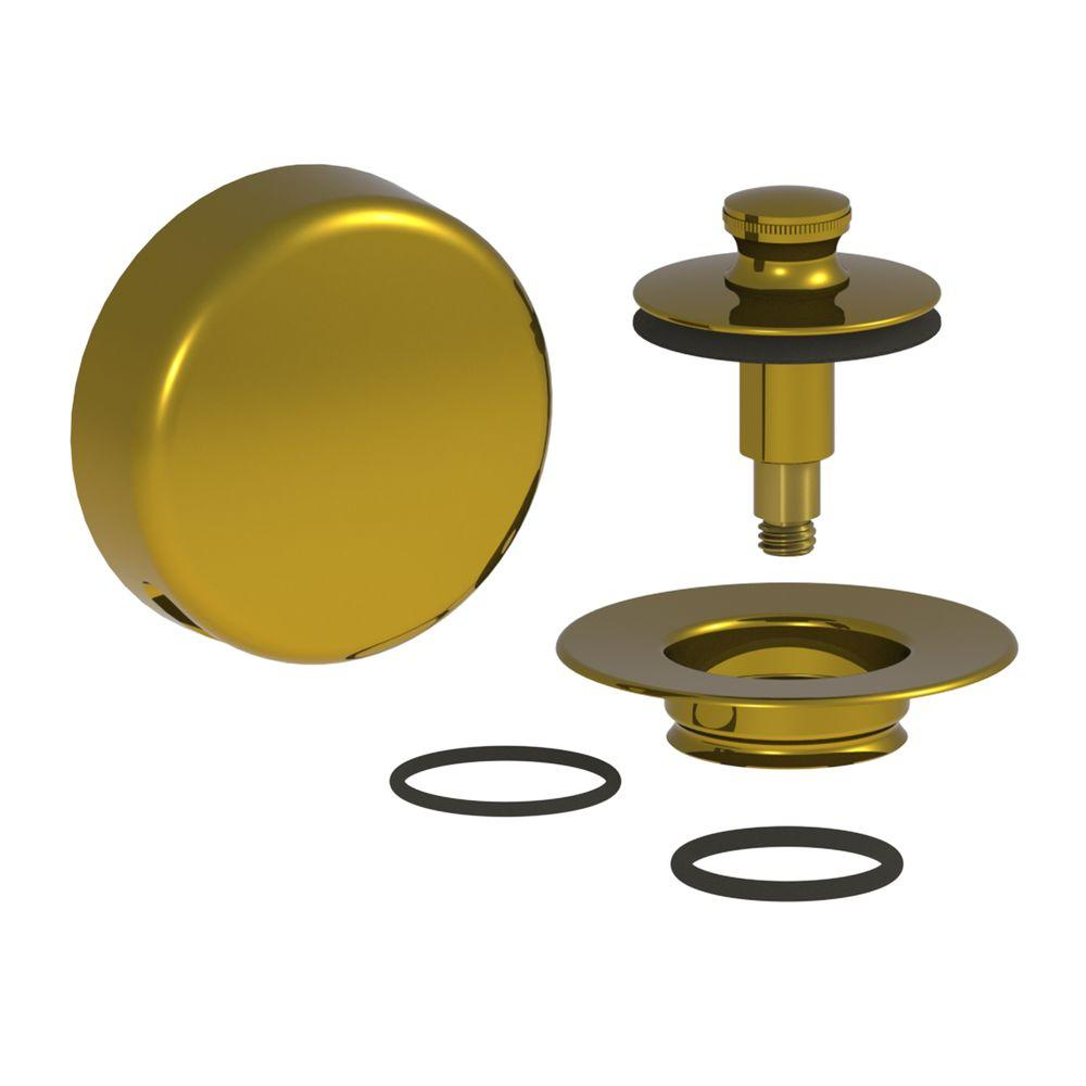 Watco QuickTrim Lift and Turn Bathtub Stopper with Innovator Overflow and 2  O Rings Trim. Watco QuickTrim Lift and Turn Bathtub Stopper with Innovator