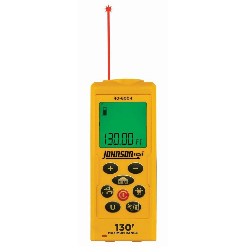 Johnson 130 ft. Laser Distance Measure