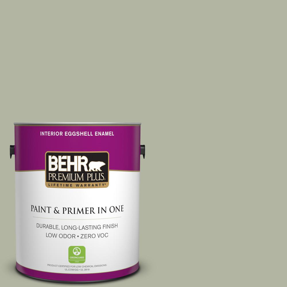1 gal. #PPU11-09 Environmental Zero VOC Eggshell Enamel Interior Paint