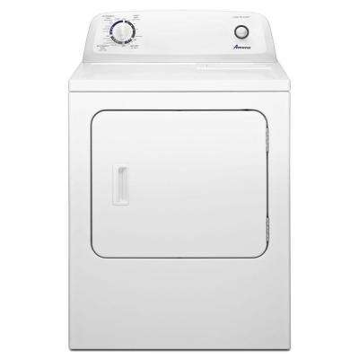 6.5 cu. ft. Electric Dryer in White