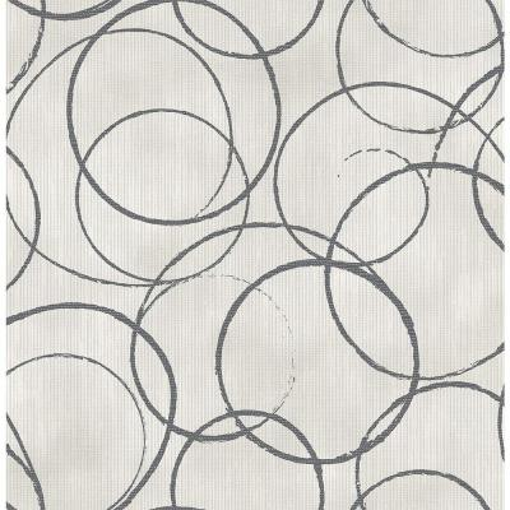 Schewe Black Geometric Wallpaper
