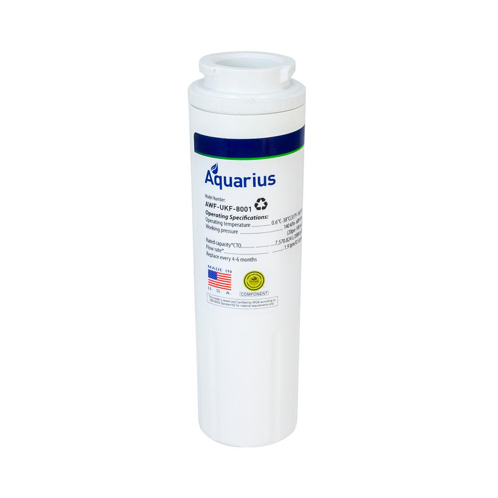Maytag UKF-8001 Compatible Refrigerator Water Filter from Aquarius Filters