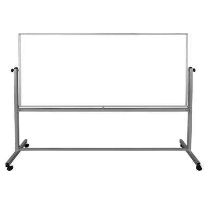 96 in. x 40 in. Double-Sided Magnetic Whiteboard