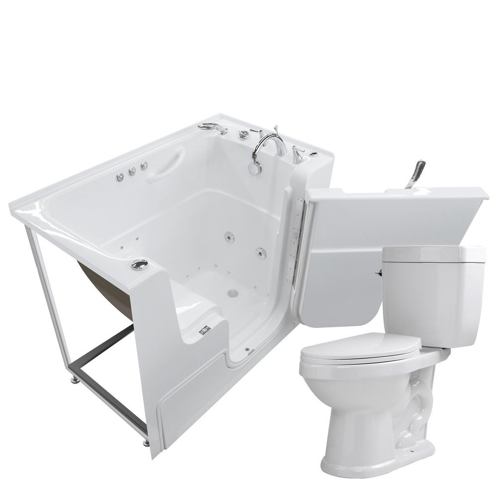Universal Tubs Wheelchair Accessible 53 In. Walk-In