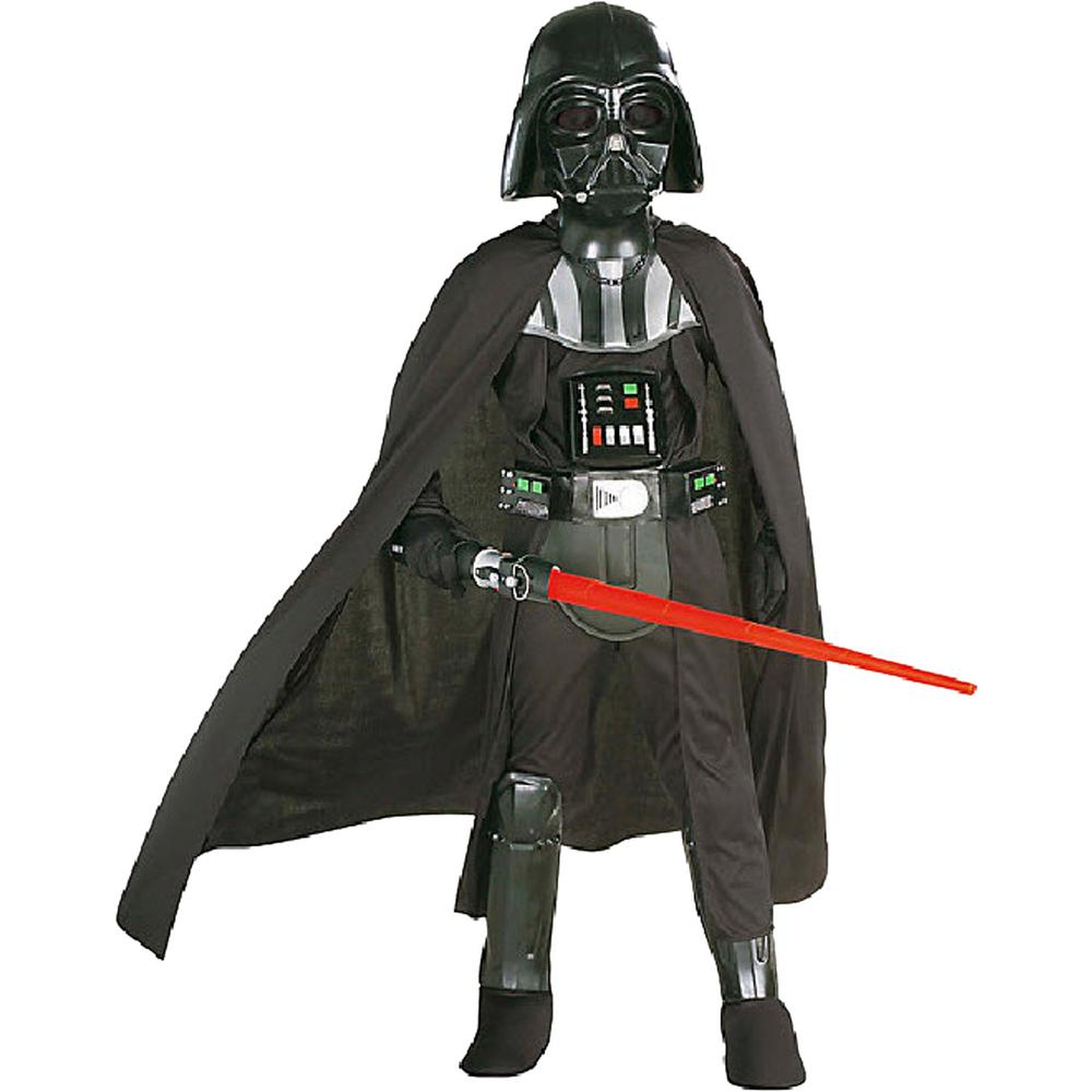 Darth Vader Costume Kids Star Wars Halloween Fancy Dress