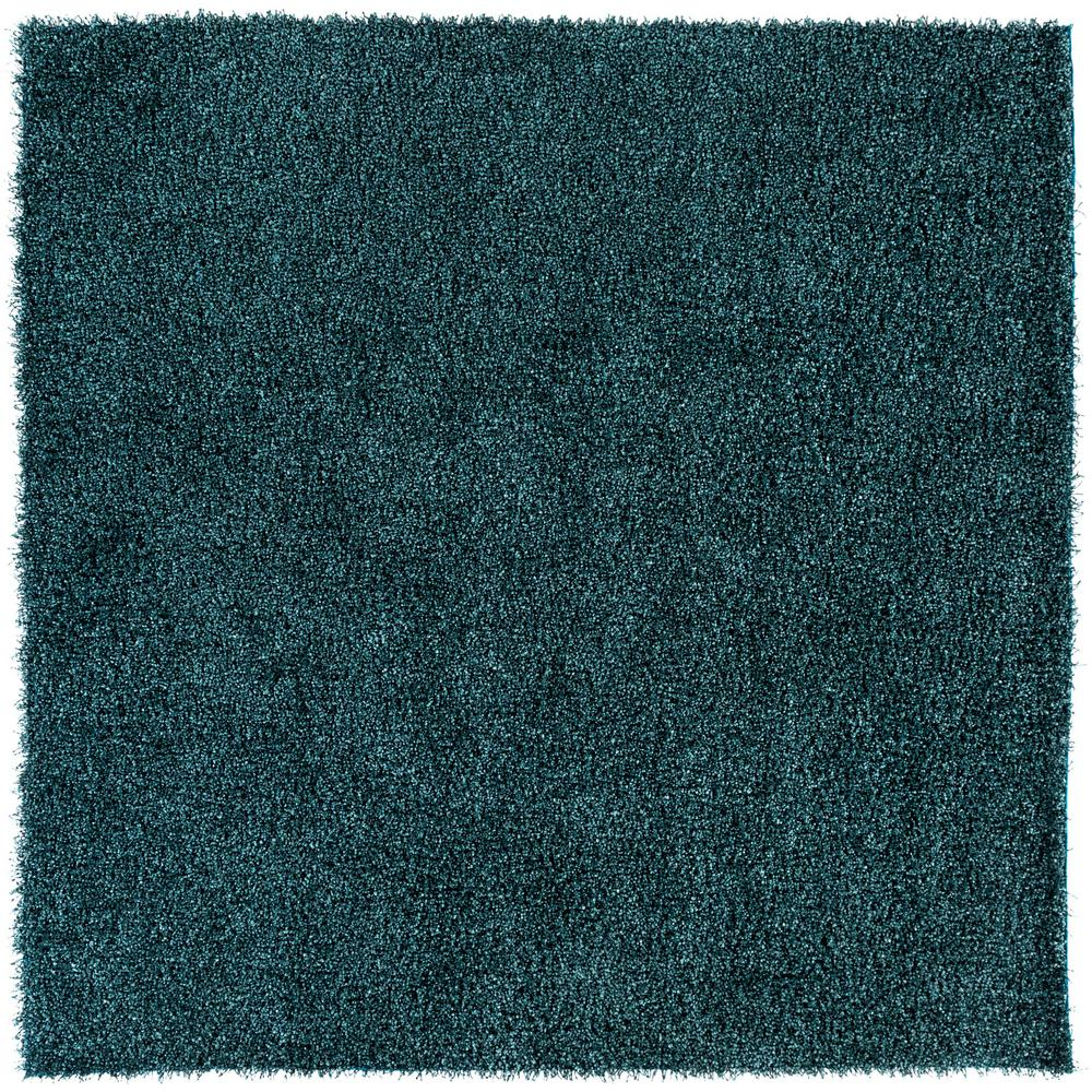 Artistic Weavers Mikhel Teal 8 Ft. X 8 Ft. Square Area Rug