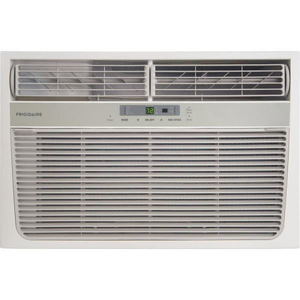 11000 BTU Window Air Conditioner with Heater and Remote Control