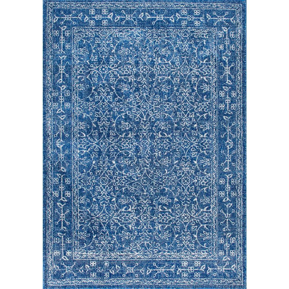 nuLOOM Vintage Waddell Dark Blue 9 ft. x 12 ft. Area Rug by nuLOOM