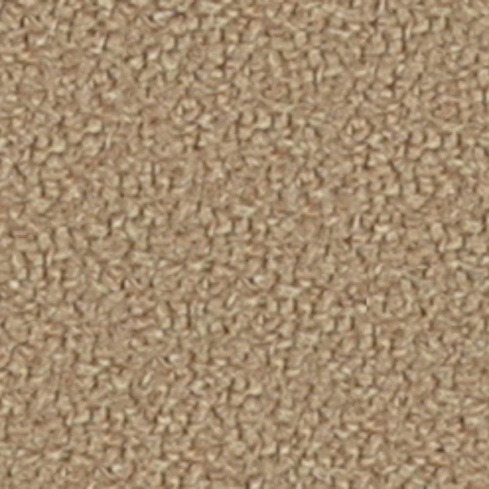 Carpet Sample - Bottom Line 26 - In Color Mocha Tan 8 in. x 8 in.