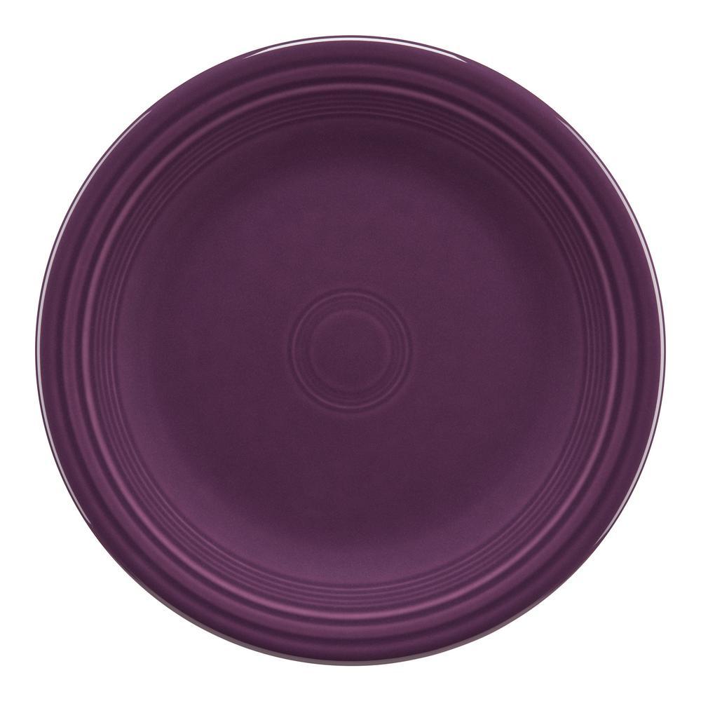 Fiesta Mulberry Dinner Plate 466343u The Home Depot