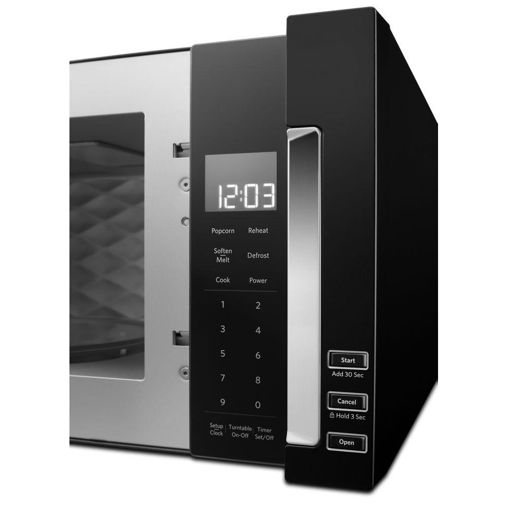 Kitchenaid 1 1 Cu Ft Over The Range Low Profile Microwave Hood