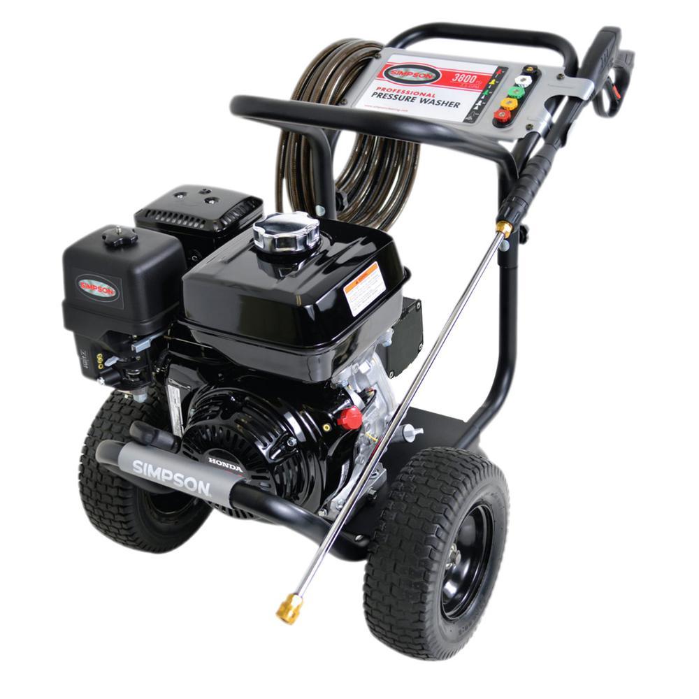 PowerShot 3,800 psi 3.5 GPM Gas Pressure Washer Powered by Honda