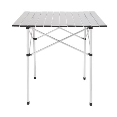 27.5 in. Aluminum Camping Table Picnic Table
