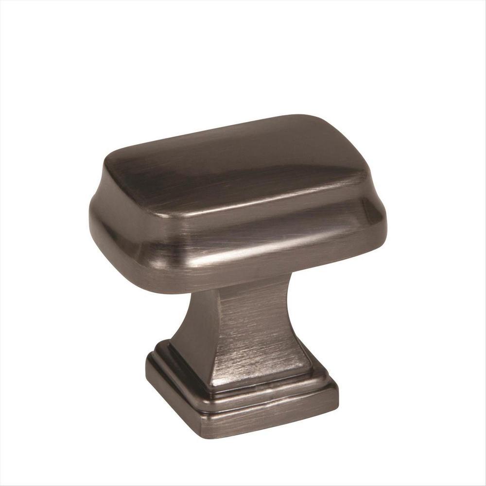 Revitalize 1-1/4 in. L (32 mm) Gunmetal Cabinet Knob