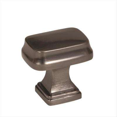 Revitalize 1-1/4 in. L (32 mm) Gunmetal Cabinet Knob