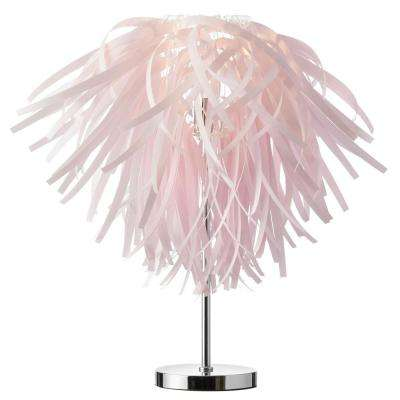 25 in. Pink Table Lamp