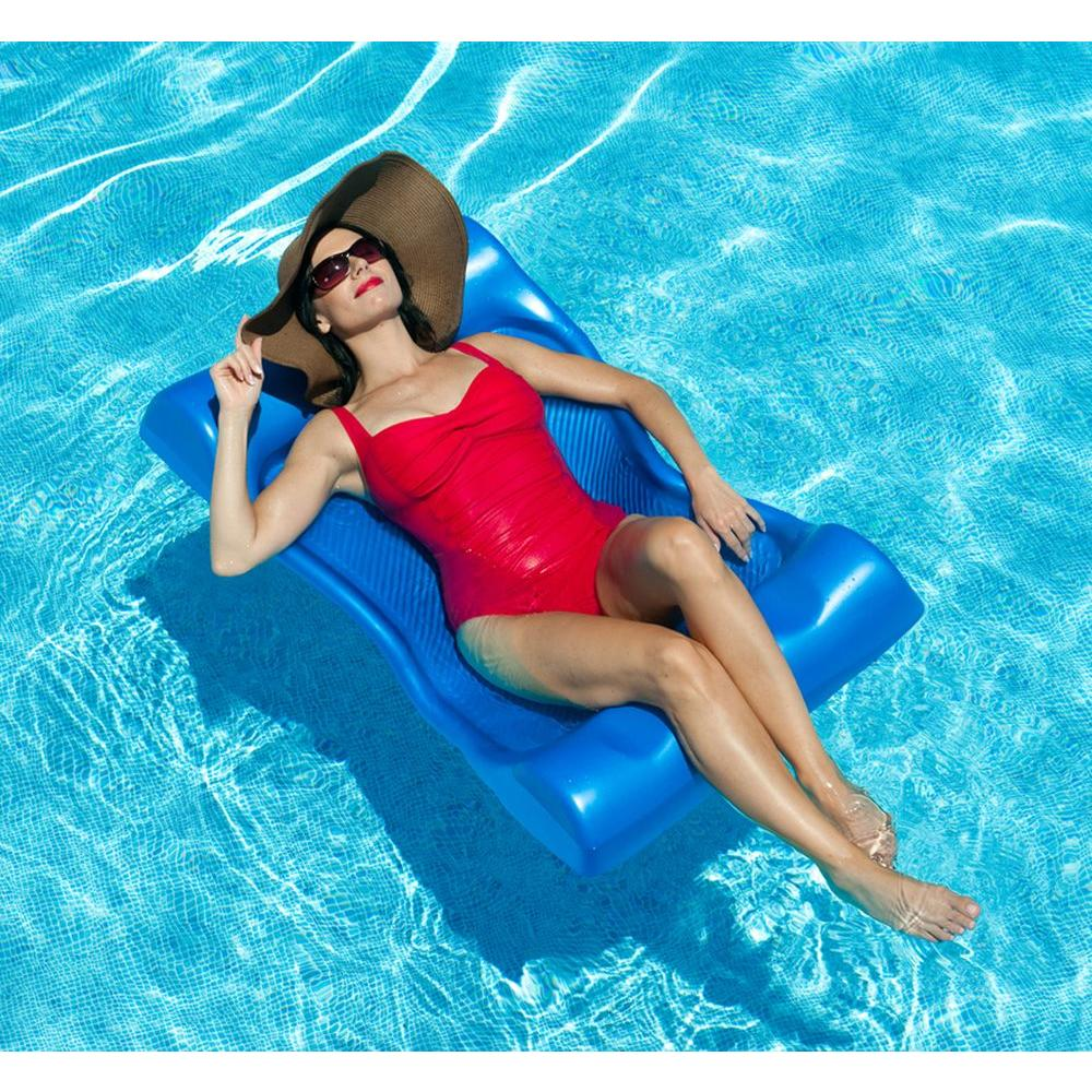 Aqua Cell Aqua Hammock Pool Float in Blue