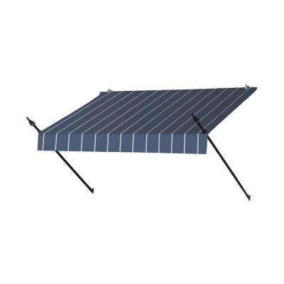 6 ft. Designer Manually Retractable Awning (36.5 in. Projection) in Tuxedo