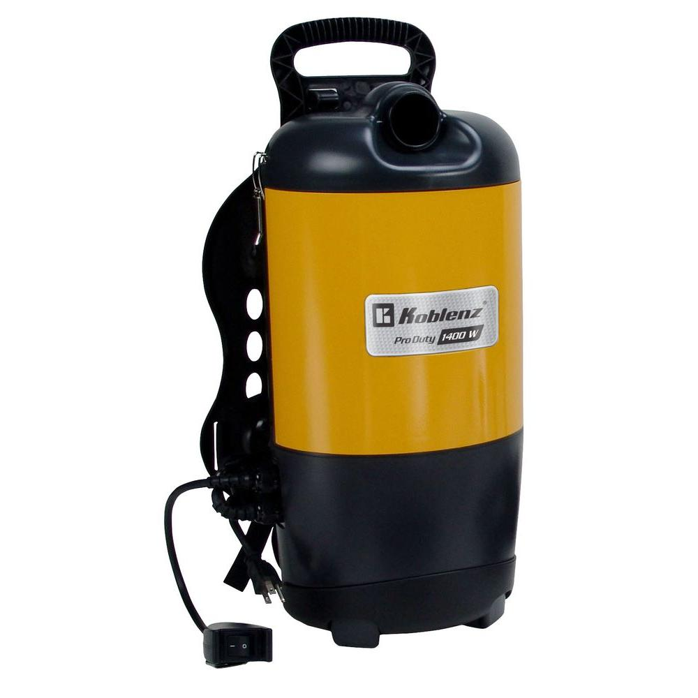 Thorne Electric Koblenz Pro-Duty Backpack Vacuum Cleaner,...