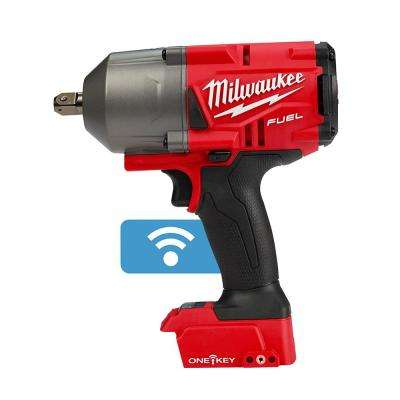 M18 FUEL ONE-KEY 18-Volt Lithium-Ion Brushless Cordless 1/2 in. Impact Wrench w/ Pin Detent (Tool-Only)