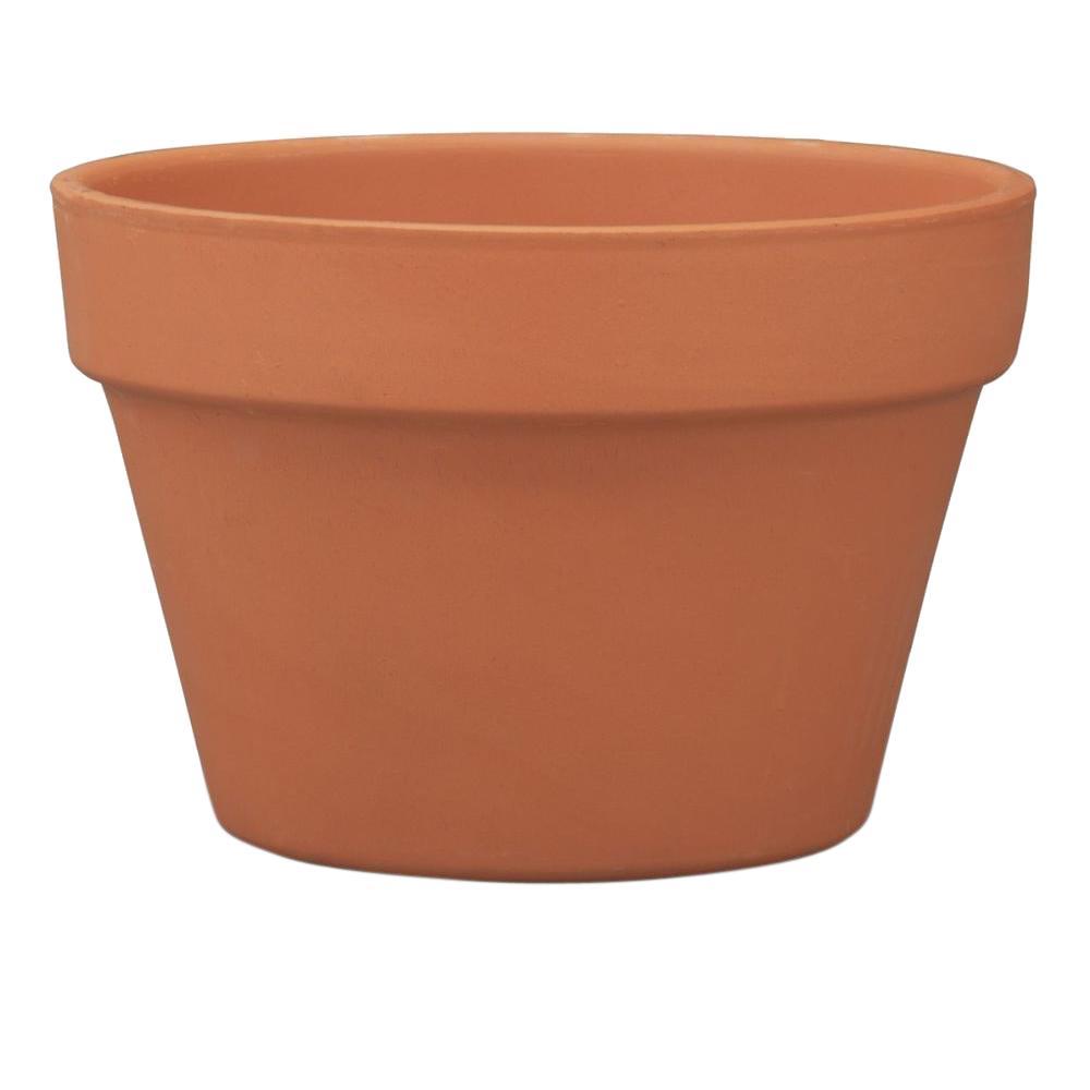 6.75 in. Terra Cotta Clay Azalea Pot