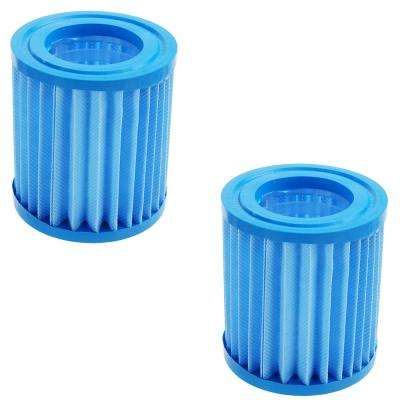3.4 in. Inorganic Antimicrobial Swimming Pool Replacement Filter Core Cartridges (Set of 2)