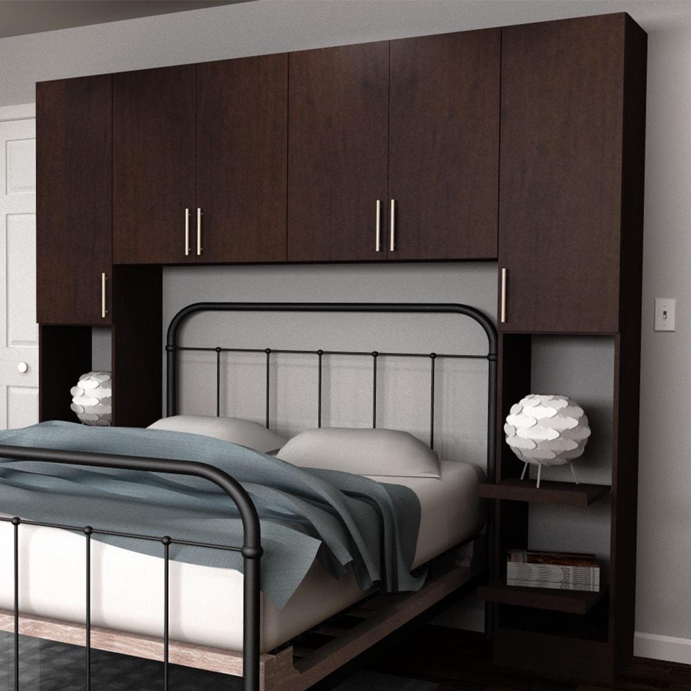 Horizon 1-Piece Mocha Full Bedroom Kit