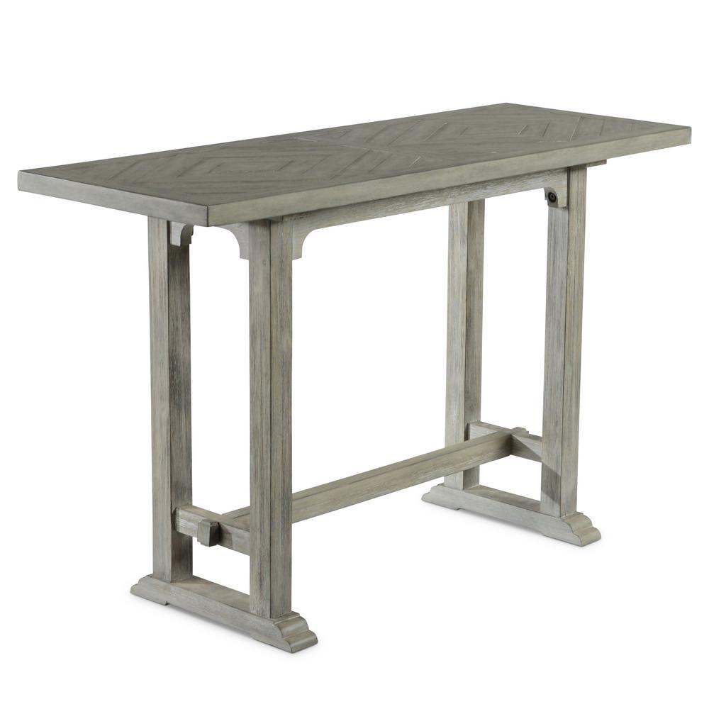 Whitford 30'' Dove Gray Sofa Table