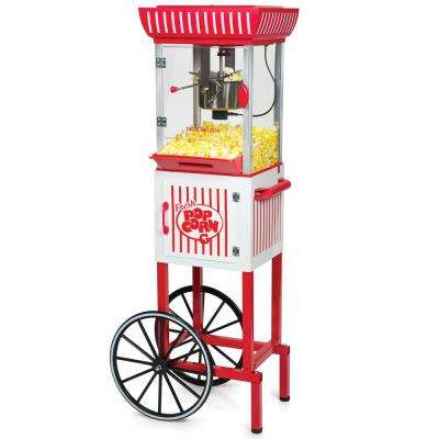 Vintage 2.5 oz. Popcorn Machine and Cart