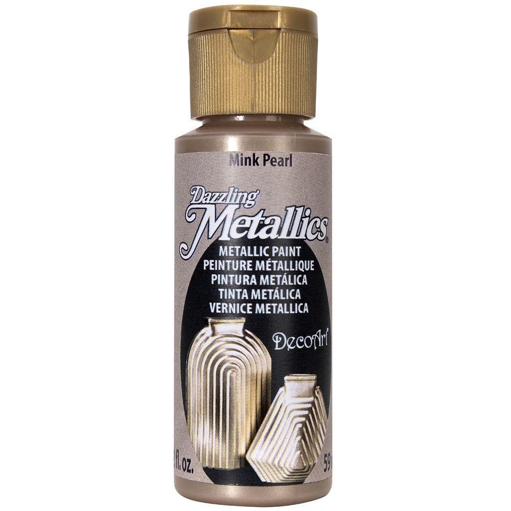 Dazzling Metallics 2 oz. Mink Pearl Acrylic Paint